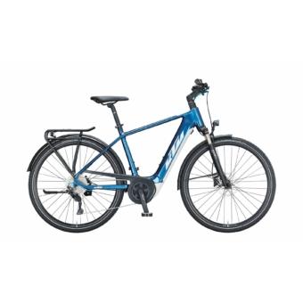 KTM MACINA SPORT P510 denim (white+blue) Férfi Elektromos Trekking Kerékpár 2021