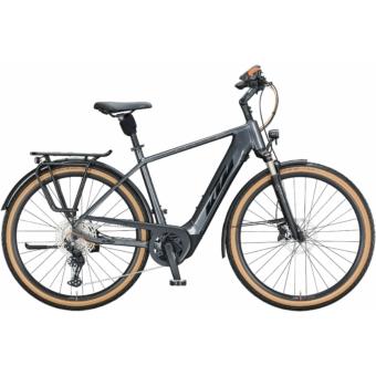 KTM MACINA STYLE 620 steel grey (black+orange) Férfi Elektromos Trekking Kerékpár 2021