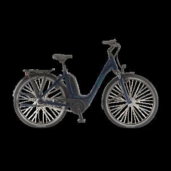 "Winora Tria N7f 400 28"" Midnightblue EASY ENTRY Unisex Elektromos Városi Kerékpár 2021"