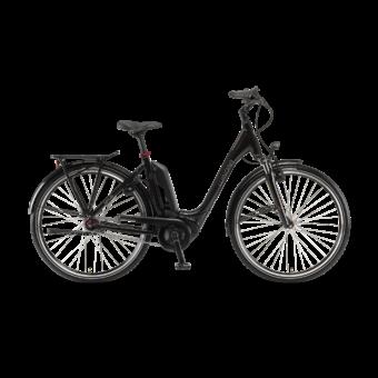 "Winora Tria N7eco 400 28"" Onyxblack EASY ENTRY Unisex Elektromos Kerékpár 2021"