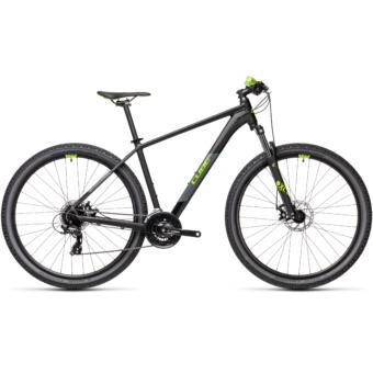 "CUBE AIM BLACK´N´GREEN 29"" Férfi MTB Kerékpár 2021"