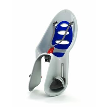 Okbaby Eggy csomagtartóra szerelhető kerékpáros gyermekülés [szürke-kék]