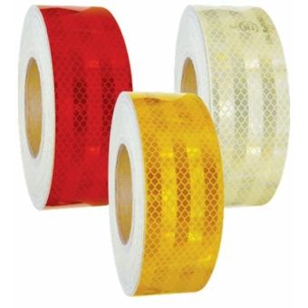 3M Öntapadós reflexszalag láthatósági matrica [sárga]