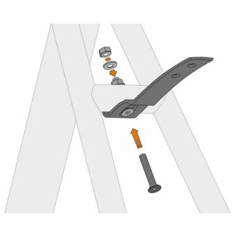 SKS-Germany Velo 42/47 kerékpár sárvédőrögzítő elem