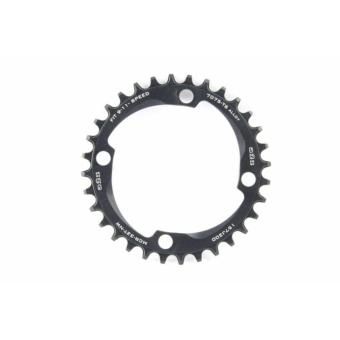 a2Z Narrow Wide (BCD: 104) 4 furatos kerékpár lánctányér [fekete, 32]