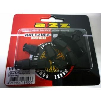 a2Z HP-04 alu zárócsavar [fekete, 5.4 mm]