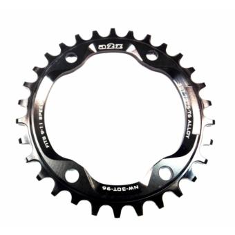 a2Z Narrow Wide (BCD: 96) 4 furatos kerékpár lánctányér [fekete, 30]