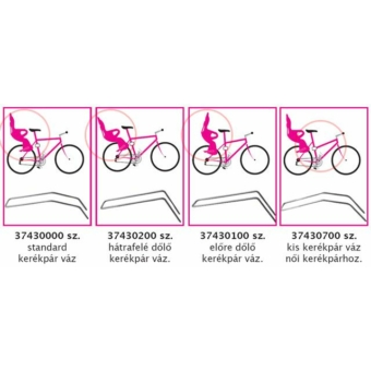 Okbaby tartórúd kerékpáros gyermeküléshez női vázas kerékpárhoz (37430700)