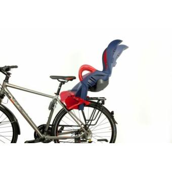 Okbaby 10+ vázra szerelhető kerékpáros gyermekülés [fekete-szürke]