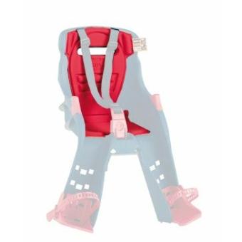 Okbaby háttámlapárna (Orion) szivacs kerékpáros gyermeküléshez [piros]