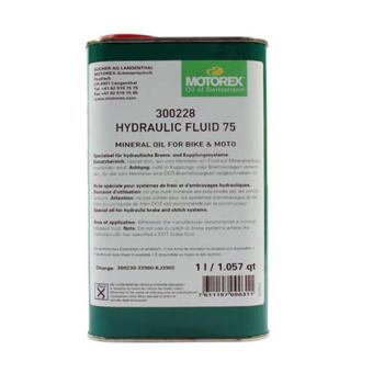 MOTOREX HYDRAULIC FLUID ásványi olaj fékhez 75 1L