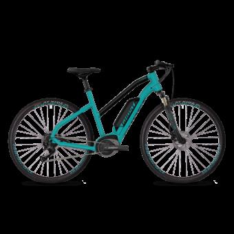Ghost Hybride Square Cross B1.8 AL U 2019 Női Elektromos Cross/ Trekking/ Városi-City kerékpár