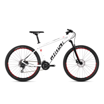 Ghost Kato 3.7 AL U Férfi MTB kerékpár 2019 - Star White Night Black Fiery Red