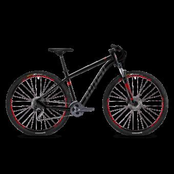 Ghost Kato 5.9 AL U Férfi MTB kerékpár 2019 - Night Black  Titanium Grey  Riot Red