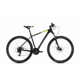 """CUBE AIM PRO BLACK´N´FLASHYELLOW 2018 29"""" MTB Kerékpár"""