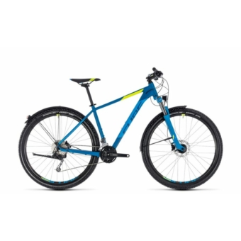 """CUBE AIM SL ALLROAD BLUE´N´FLASHYELLOW 2018 29"""" MTB Kerékpár"""