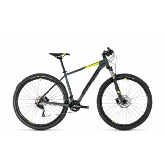 "CUBE ATTENTION SL GREY´N´FLASHYELLOW 2018 27,5"" & 29"" MTB Kerékpár"