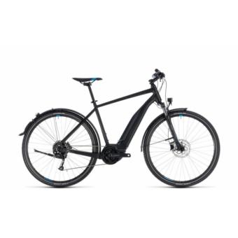 CUBE CROSS HYBRID ONE ALLROAD 500 BLACK´N´BLUE 2018 Elektromos Kerékpár