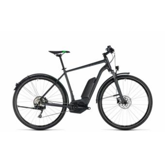 CUBE CROSS HYBRID PRO ALLROAD 400 GREY´N´FLASHGREEN 2018 Elektromos Kerékpár