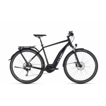 CUBE TOURING HYBRID PRO 400 BLACK´N´WHITE 2018 Elektromos Kerékpár