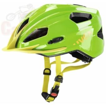Uvex Quatro Junior green-yellow bukósisak