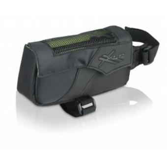Kerékpár Táska felső csőre 15x4,5x7,5cm, 0,4ltr fekete-antracit BA-S60