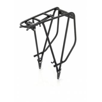 Kerékpár csomagtartó XLC alu, 28 matt fekete,RP-R03