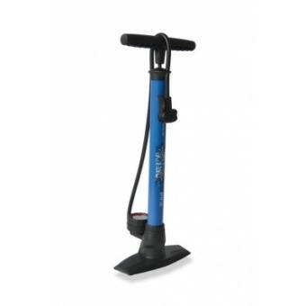 Kerékpár Pumpa Delta állópumpa 11 bar, kettos fej, kék PU-S04