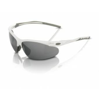 Kerékpár Napszemüveg Palma' fehér keret, füstsz. lencse SG-C13