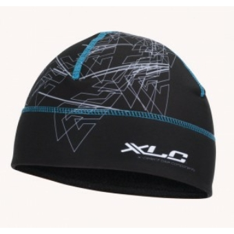 Kerékpár Sapka XLC ALLMTN fekete-kék-szürke L/XL