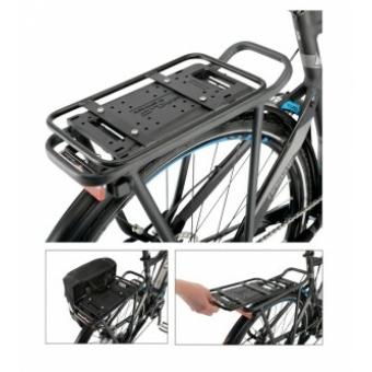 Kerékpár csomagtartó adapter oldaltáska rögzítéséhez Carry more rendszer