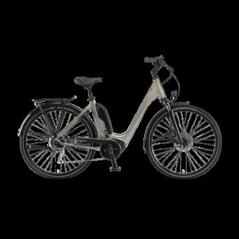 """Winora Tria 8 Einrohr 400Wh 28"""" 8-G Acera Unisex Elektromos Trekking Kerékpár"""
