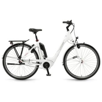 "Winora Tria N7f Wave Einrohr 400Wh 28"" 7-G Nexus FL Unisex Elektromos Városi Kerékpár"