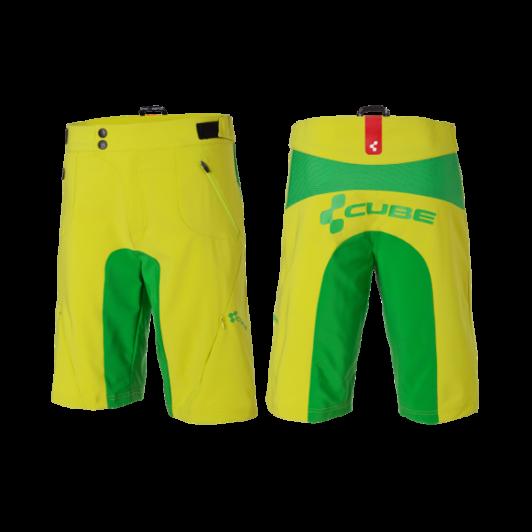Cube AMS Shorts   Lime SHORT