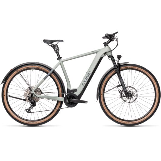 CUBE CROSS HYBRID SL 625 ALLROAD lunar´n´grey Férfi Elektromos Cross Trekking Kerékpár 2021