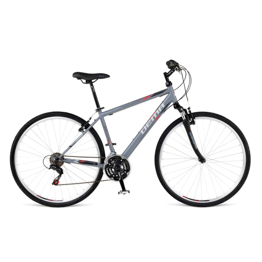 """Dema TRINO grey - black 18""""  Cross Trekking Kerékpár"""