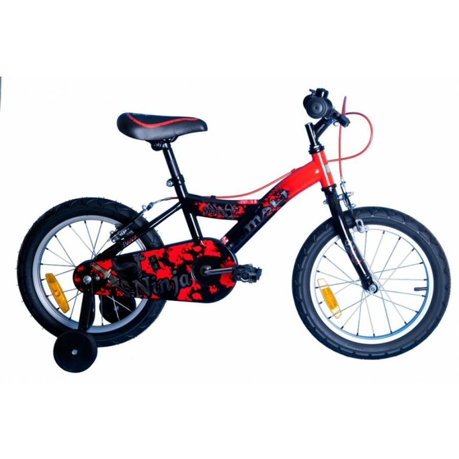"""Mali Ninja 16"""" Gyermek Kerékpár"""