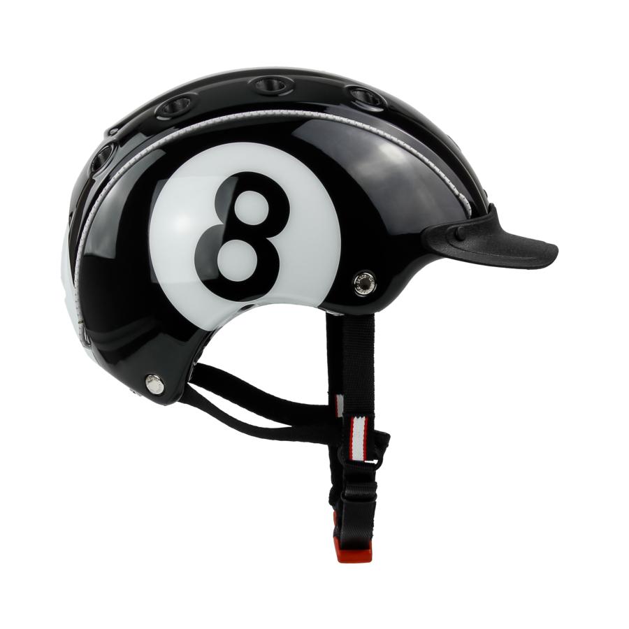 CASCO MINI 2 BLACK 8BALL