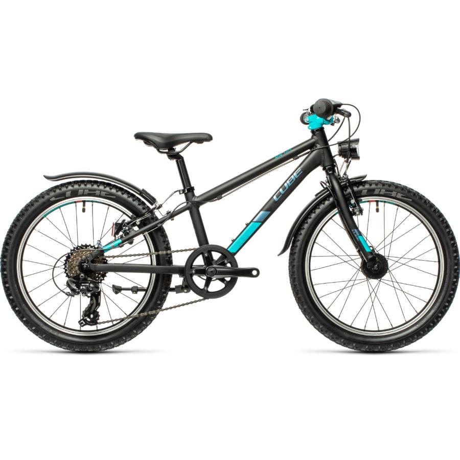 """CUBE ACID 200 ALLROAD BLACK´N´MINT 20"""" Gyerek Kerékpár 2021"""