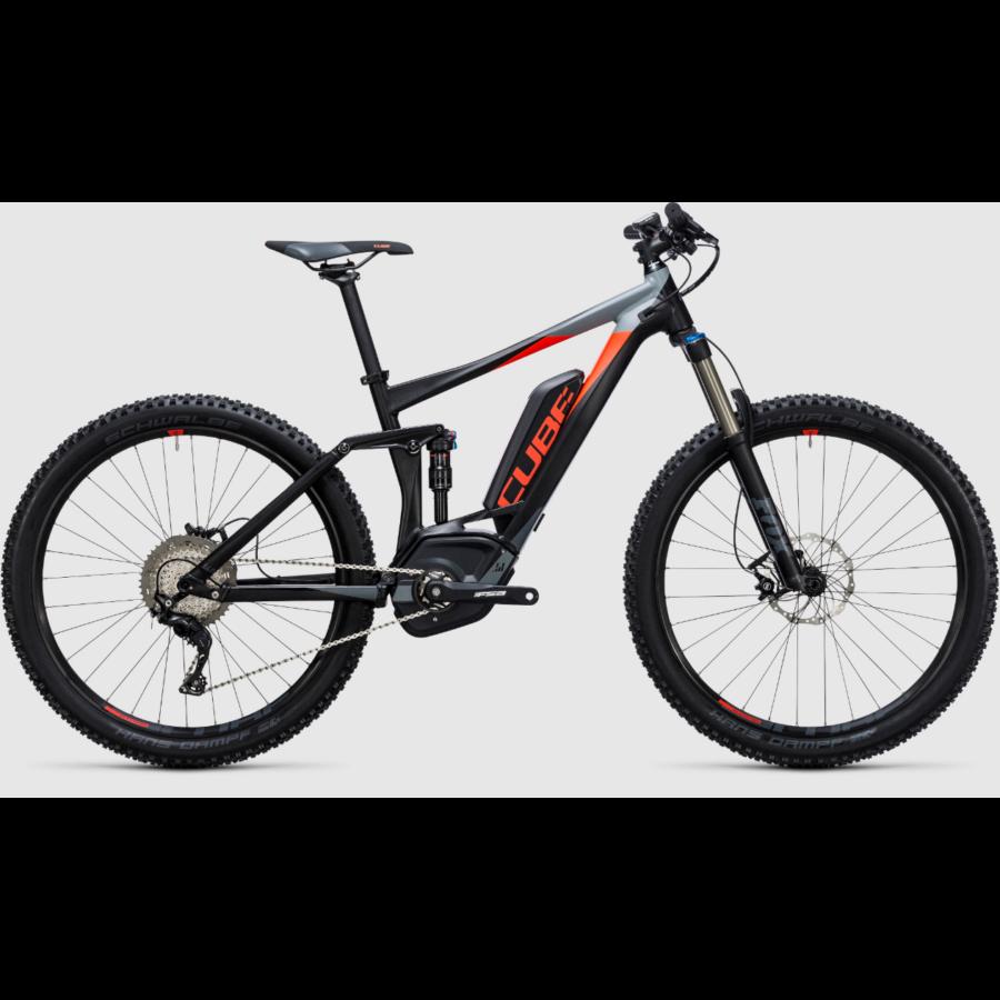 CUBE STEREO HYBRID 140 HPA PRO 500 27,5 Férfi Elektromos Összteleszkópos MTB Kerékpár 2017