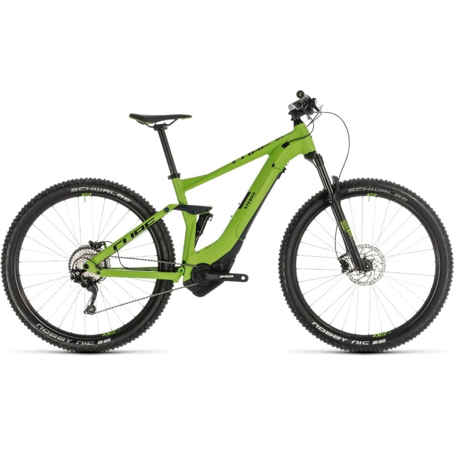 CUBE STEREO HYBRID 120 Pro 500 29 Férfi Elektromos Összteleszkópos MTB Kerékpár 2019 - Több Színben