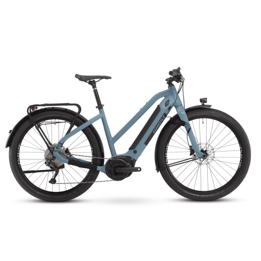 GHOST E-Square Travel Ladies Női Elektromos Trekking Kerékpár 2021