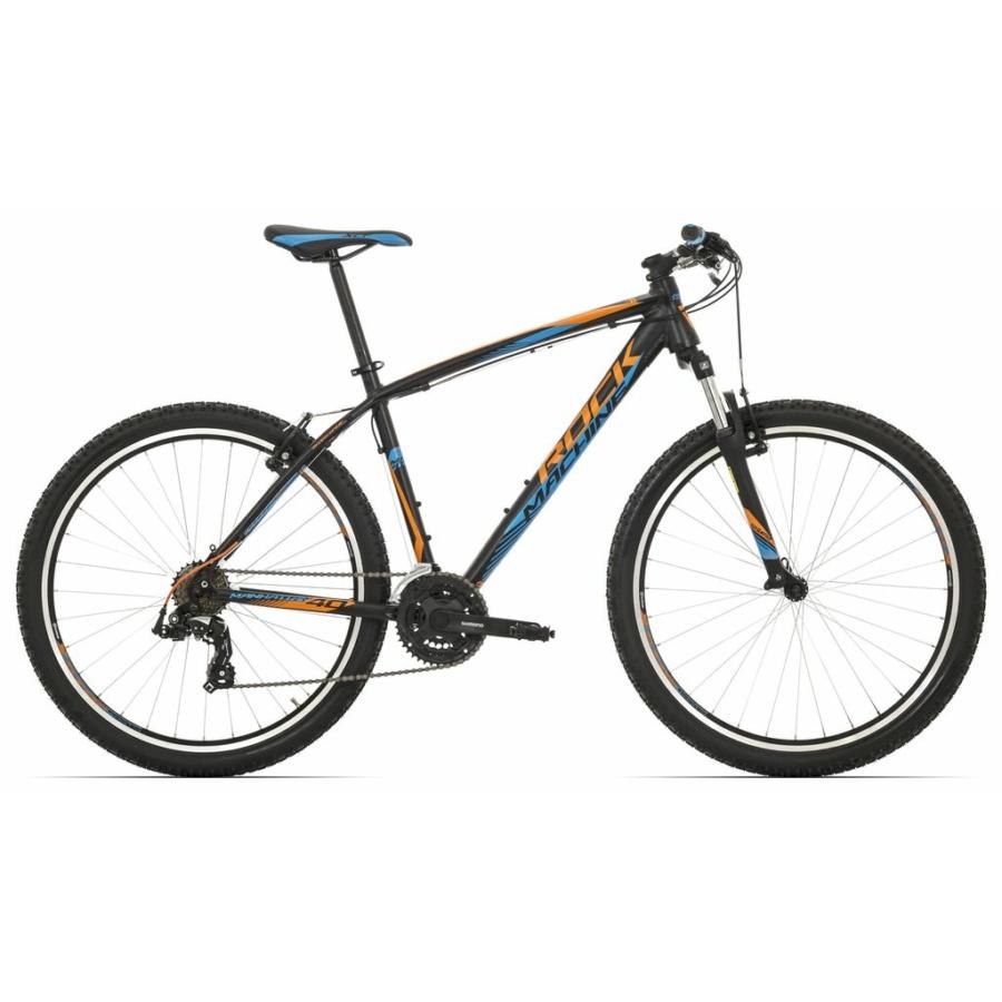 Rock Machine Manhattan 40-27 XC kerékpár matt fekete