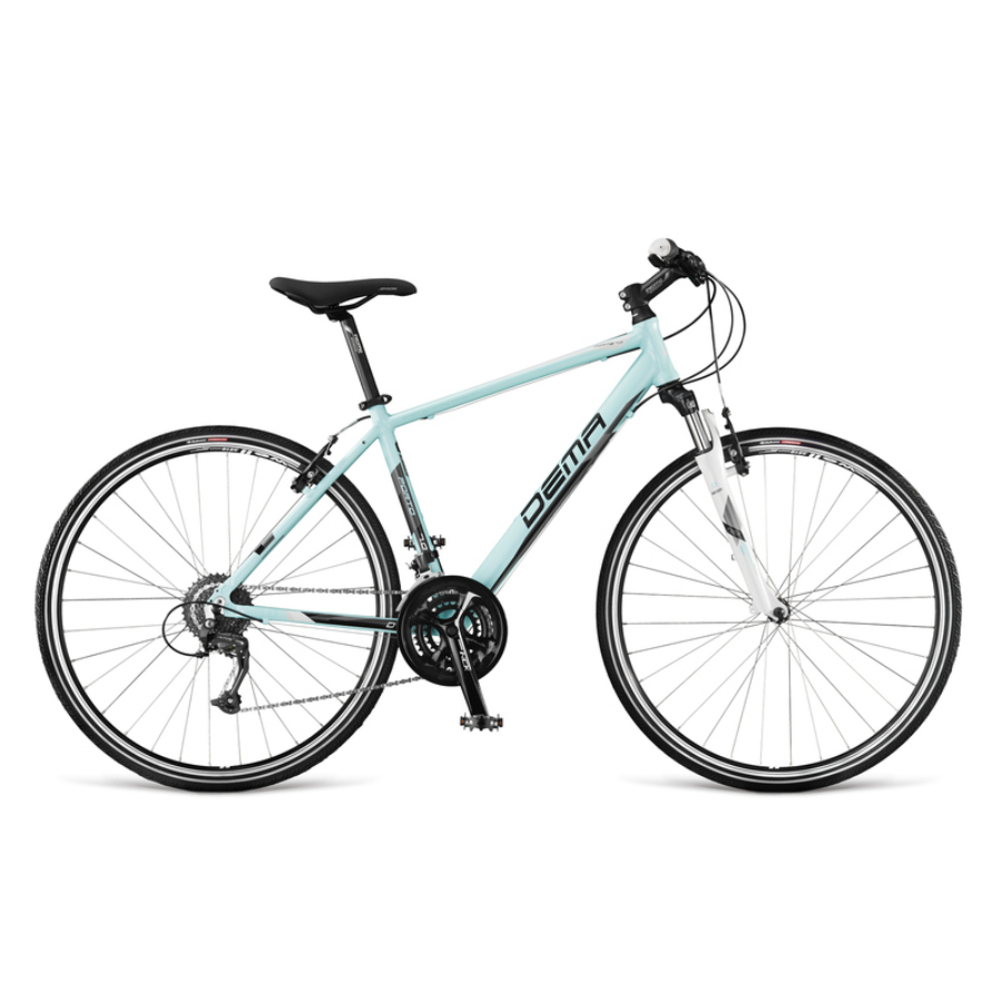 Dema Porto 7.0 2016 Ajándék kilóméteróra, kulacs+ kulacstartó, Cross Trekking Kerékpár