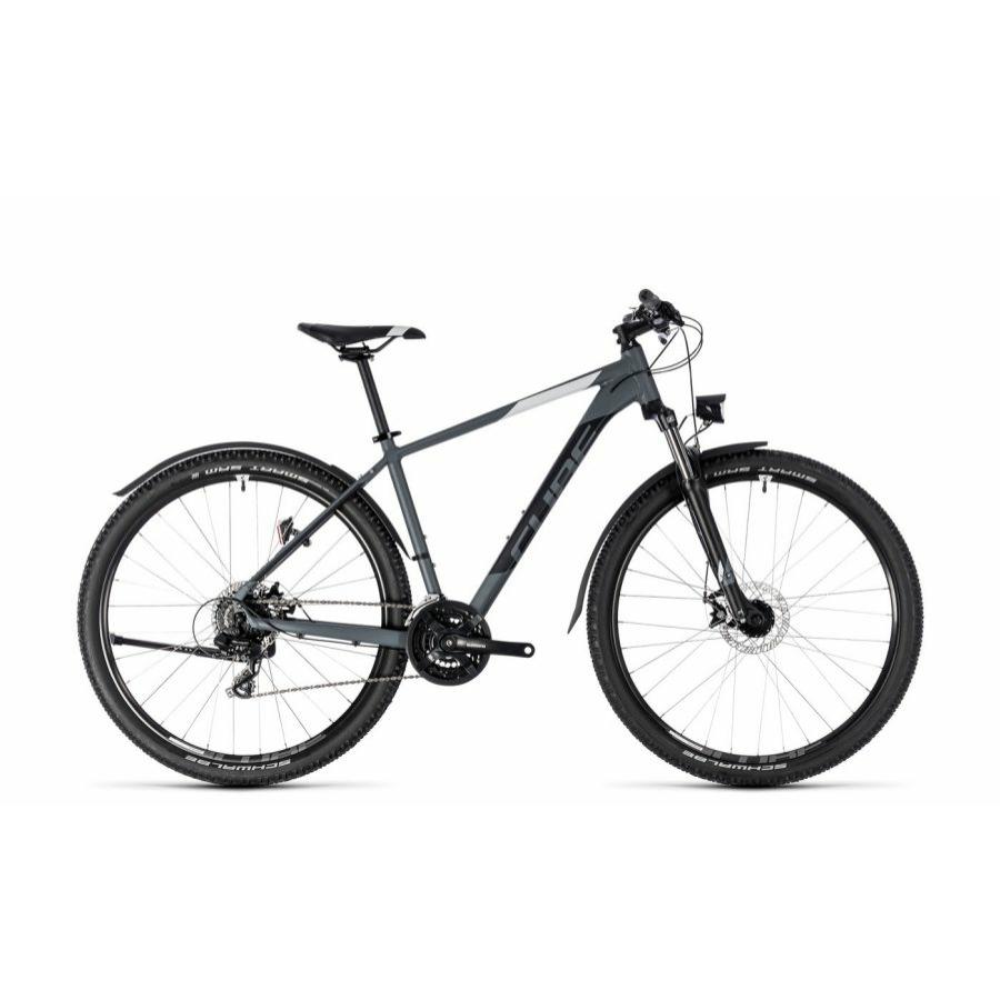 """CUBE AIM ALLROAD GREY´N´WHITE 2018 27,5"""" és 29"""" MTB Kerékpár"""