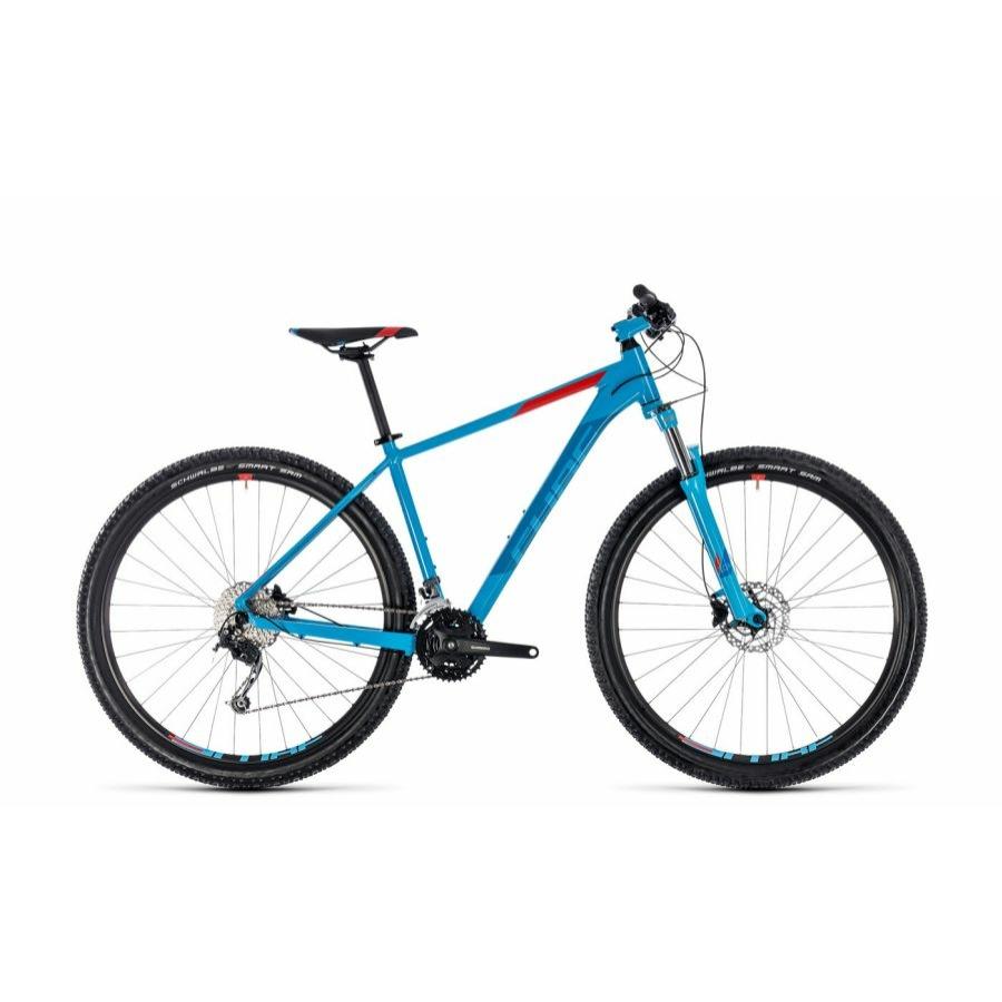 """CUBE AIM SL BLUE´N´RED 2018 27,5"""" és 29"""" MTB Kerékpár"""