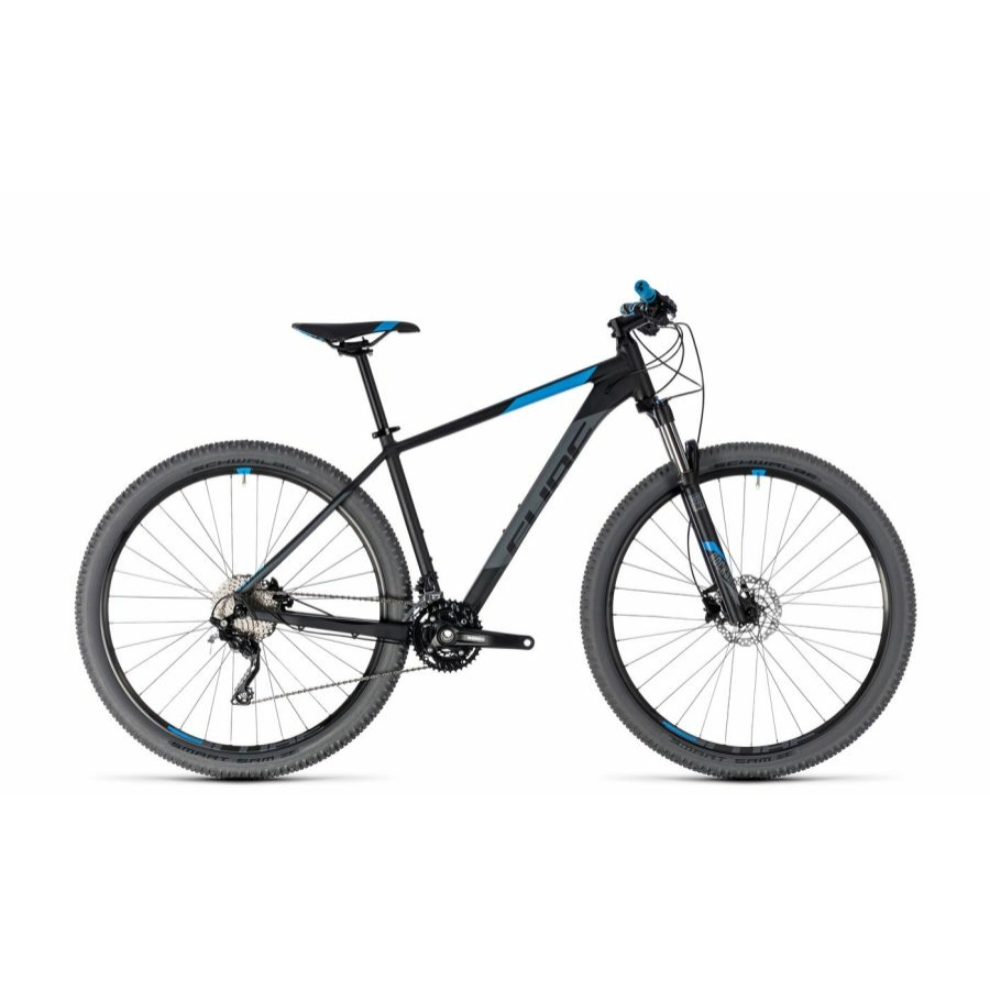 """CUBE ATTENTION BLACK´N´BLUE 2018 27,5"""" és 29"""" MTB Kerékpár"""