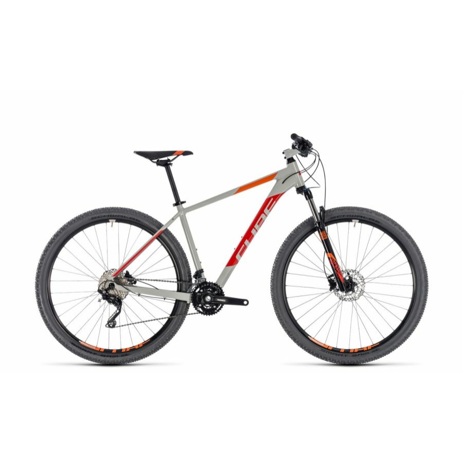 "CUBE ATTENTION GREY´N´RED 2018 27,5"" és 29"" MTB Kerékpár"