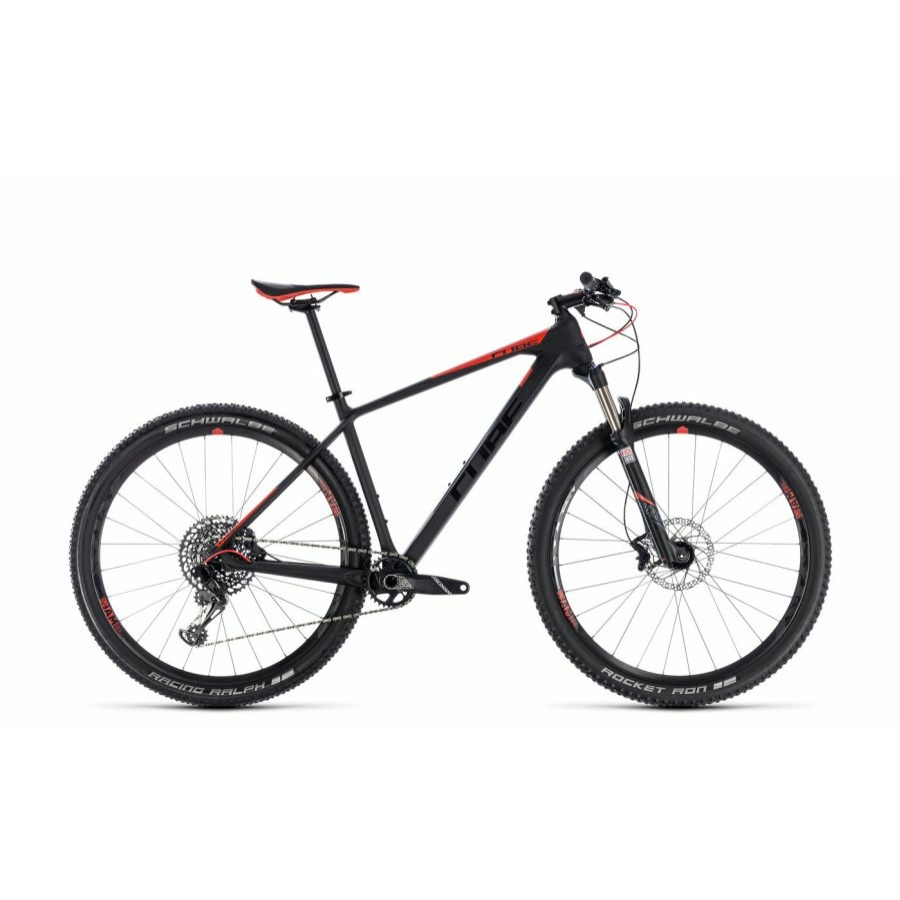 "CUBE REACTION C:62 PRO CARBON´N´RED 2018 29"" MTB Kerékpár"