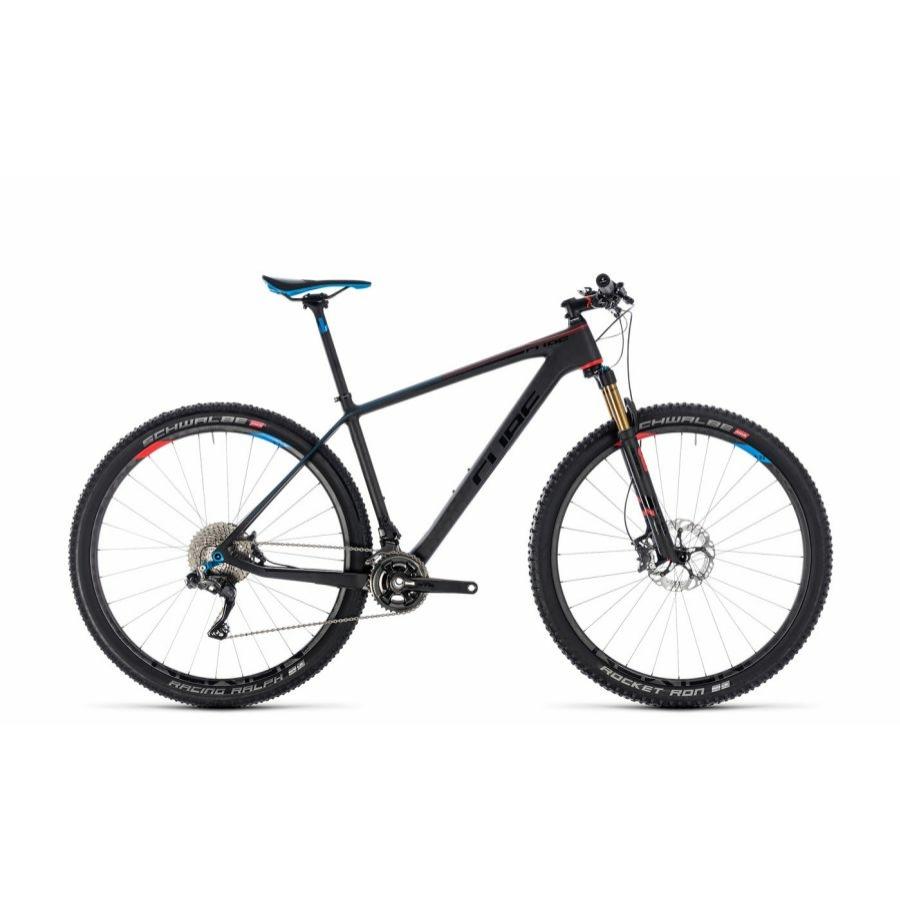 CUBE ELITE C:68 SLT ZEROBLACK 2018  MTB Kerékpár